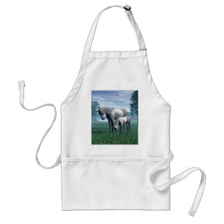 Mare and Foal Adult Apron