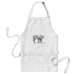 Mare and Foal Apron