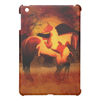 Mare And Foal Fantasy Art By Moonlake iPad Mini Cover