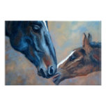 Mare and Foal Fine Art Print