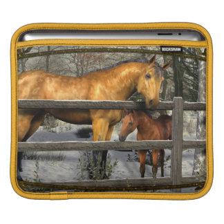 Mare and Foal iPad Sleeve