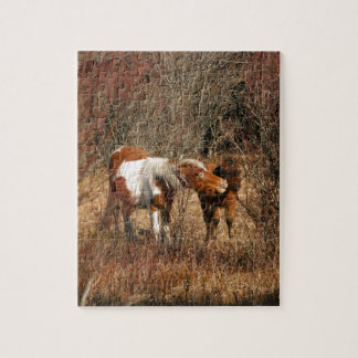 Mare and Foal Jigsaw Puzzle