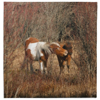 Mare and Foal Napkin