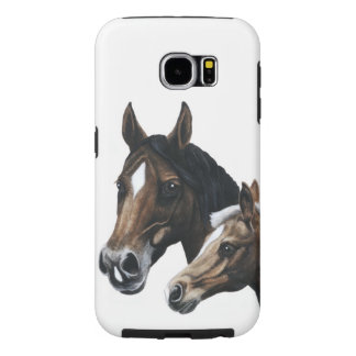 mare and foal Samsung Galaxy S6 case