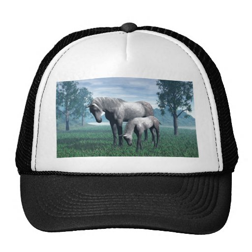 Mare and Foal Trucker Hat
