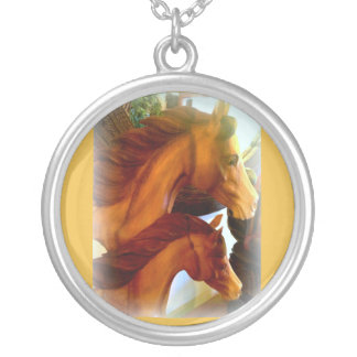 mare and pony necklace