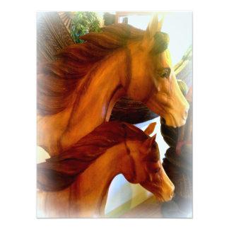 mare and pony photo print