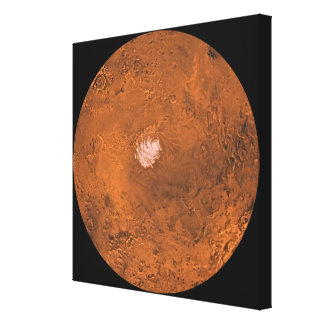Mare Australe region of Mars Gallery Wrap Canvas