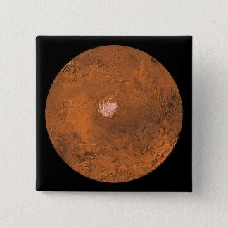 Mare Australe region of Mars Pinback Button