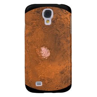 Mare Australe region of Mars Samsung Galaxy S4 Case