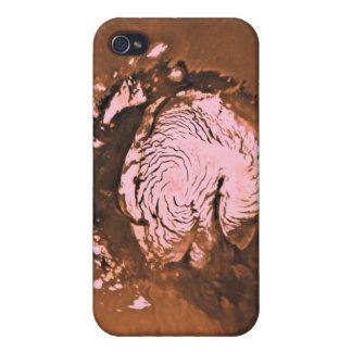 Mare Boreum region of Mars Cover For iPhone 4