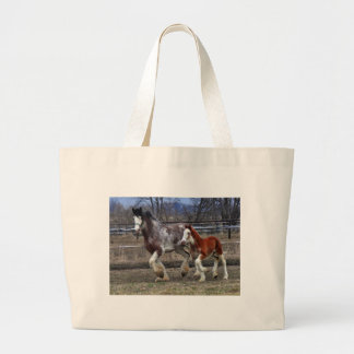 Mare & colt running canvas bags