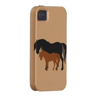 Mare Colt Silhouettes iPhone 4/4S Cover