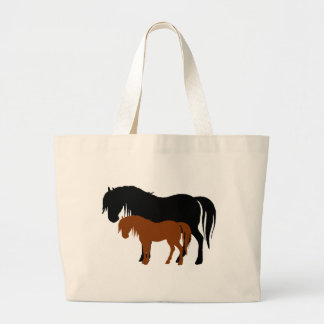 Mare & Colt Silhouettes Large Tote Bag