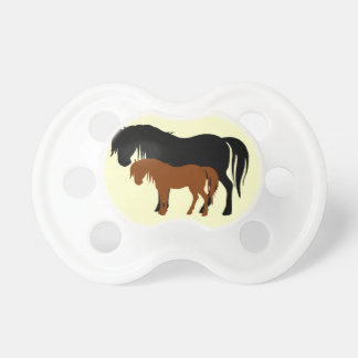 Mare & Colt Silhouettes Pacifier