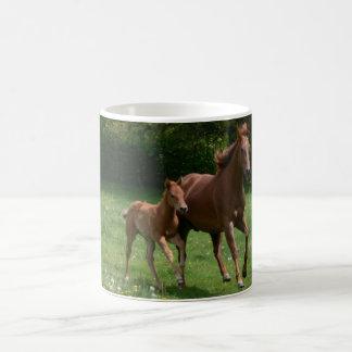 Mare Foal Running Mug