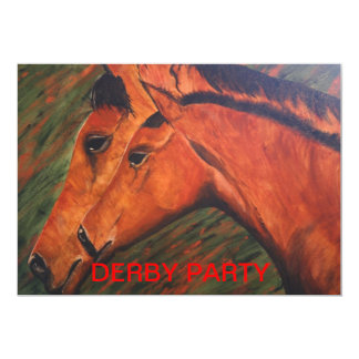 Mare & Foul/Derby Party Invitation