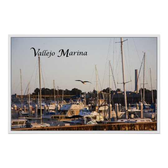 Mare Island and Vallejo Marina Poster