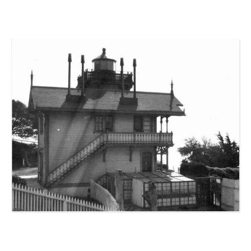 Mare Island Lighthouse Postcard