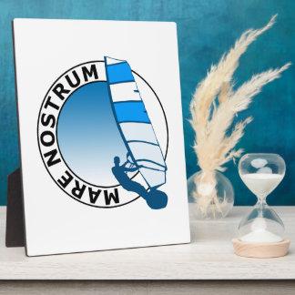"""""""Mare Nostrum"""" Plaque"""
