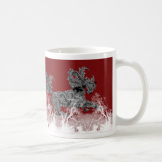 'Mare of Nights' mug in red