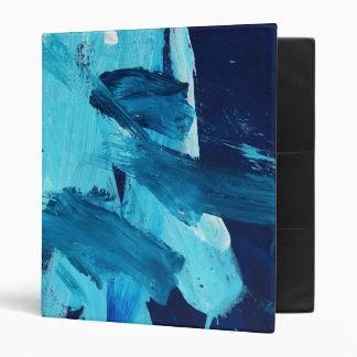 Marea abstracta del océano de la pintura 68