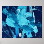 Marea abstracta del océano de la pintura 68 impresiones