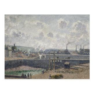 Marea baja en Duquesne Docks, Dieppe, 1902 Postales