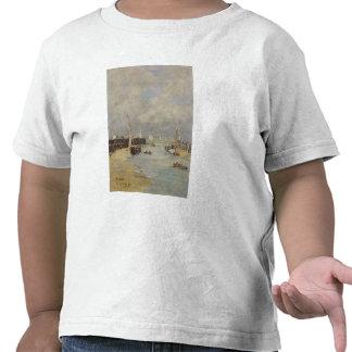 Marea baja en Trouville, 1895 (aceite en el panel) Camisetas