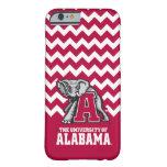 Marea carmesí de Alabama con Al grande Funda Barely There iPhone 6