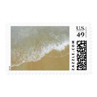 Marea de la orilla de mar sellos postales