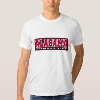 Marea del carmesí de Alabama Playeras
