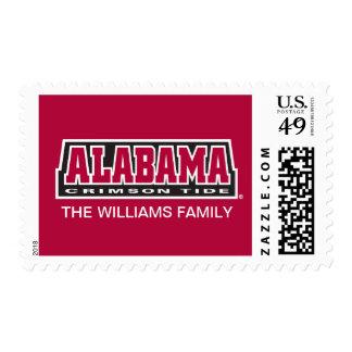 Marea del carmesí de Alabama Sellos Postales