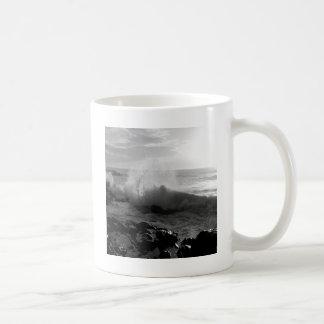 Mareas del aerosol de mar del agua taza de café