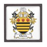 Maren Family Crest Premium Keepsake Box