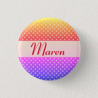 Maren name plate Anstecker Button