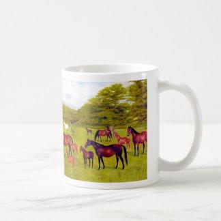 Mares and Foals Art MUG
