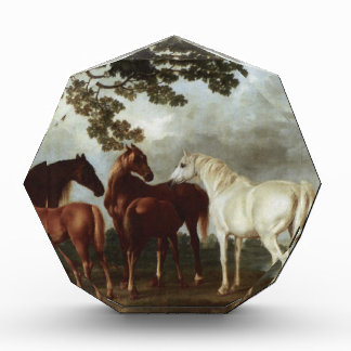 Mares and Foals in a River Landscape George Stubbs Acrylic Award