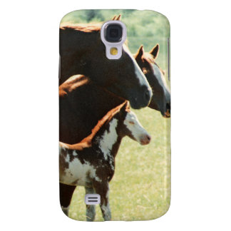 Mares and Foul Horses Picture Samsung Galaxy S4 Case