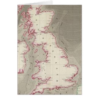 Mares de marea de Británicos de la carta Tarjeta De Felicitación