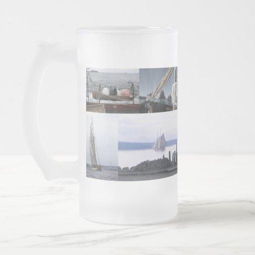 Mares escarchados tazas