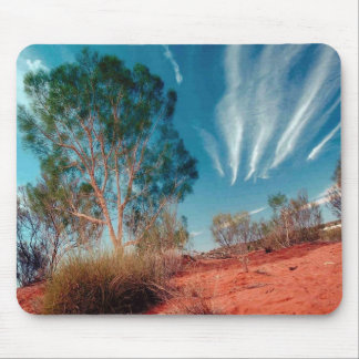 Mare's Tails and Red Soil Mouse Pad