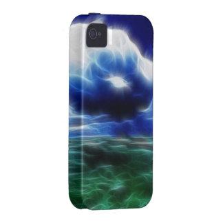 Mares tempestuosos de la fantasía iPhone 4/4S carcasas