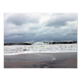 Mares tempestuosos del Océano Atlántico Impresiones Fotográficas
