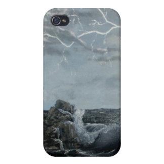 Mares tempestuosos iPhone 4 carcasas