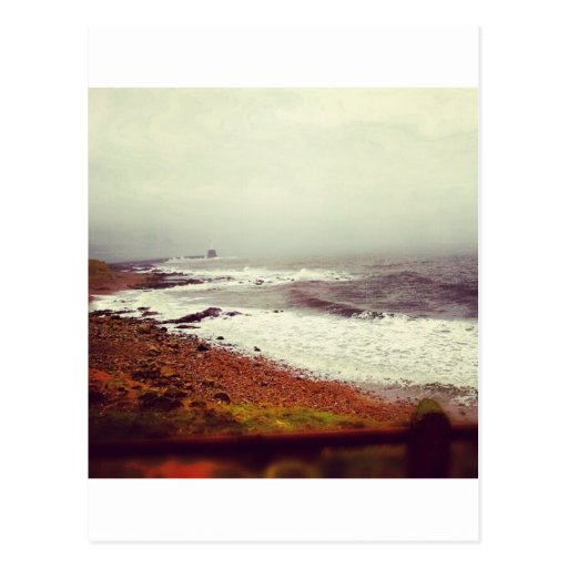 Mares tempestuosos postales