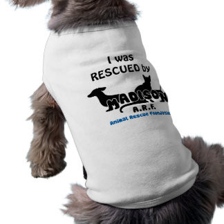 MARF logo, I was RESCUED by Pet Tee Shirt