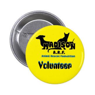 MARF Volunteer Button