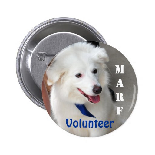 MARF Volunteer Button with Molly