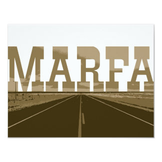 Marfa Texas Card